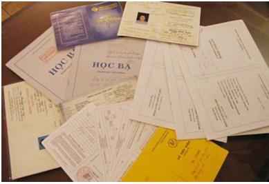 Dịch thuật hồ sơ, học bạ, visa kèm công chứng