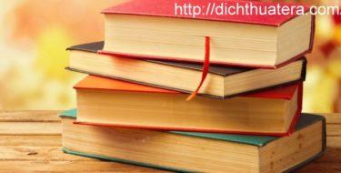 Dịch thuật luận văn thạc sĩ, luận văn đồ án
