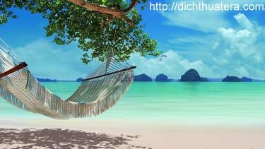 Biển xanh, cát trắng và nắng vàng