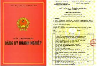 Dịch công chứng giấy phép kinh doanh