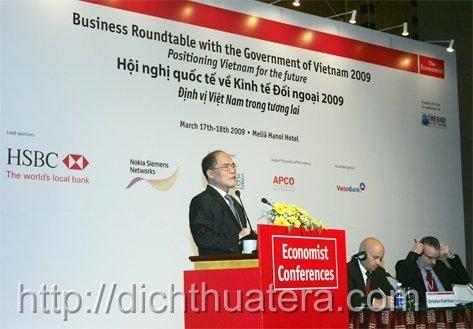 Dịch thuật chuyên ngành kinh tế đối ngoại