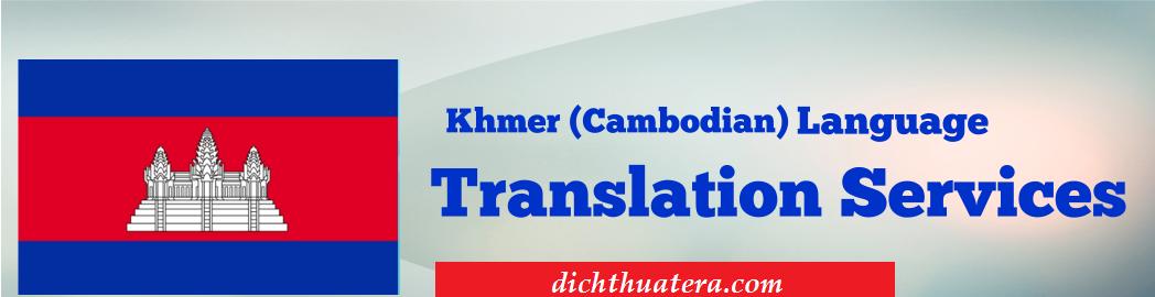 Dịch thuật tiếng cambodia uy tín